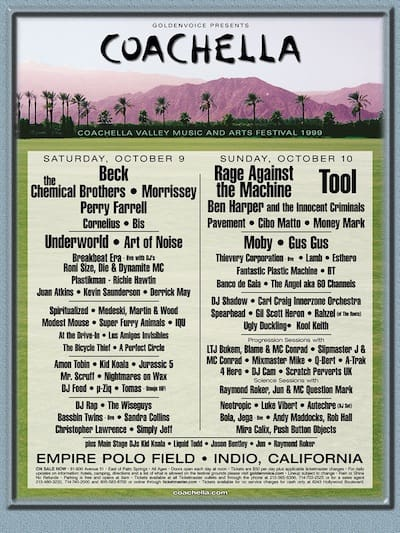 The First Coachella in 1999