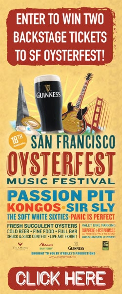 San Francisco Oysterfest Tickets