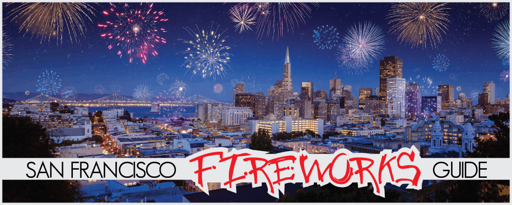 Best Places to View the San Francisco Fireworks on The Fourth of July