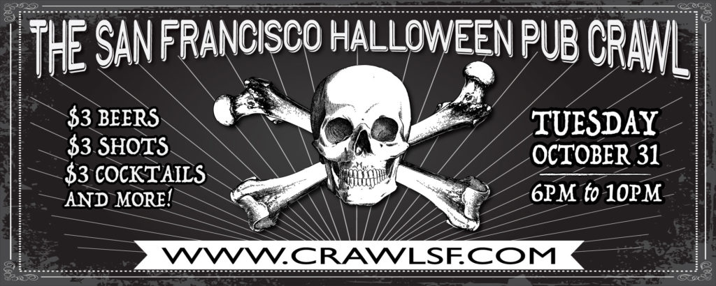 The San Francisco Halloween Pub Crawl