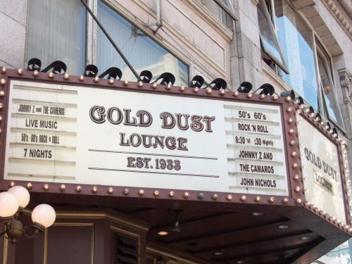The Gold Dust Lounge moves to Fisherman's Wharf (hopefully in time for the Fisherman's wharf Pub Crawl)