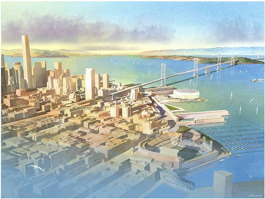 Golden State Warriors to build New Arena on SF Waterfront