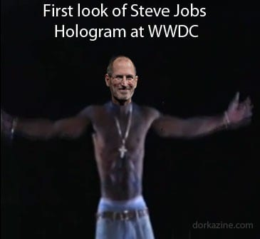 Steve Jobs Hologram WWDC