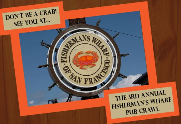 San Francisco Pub Crawl in Fisherman's Wharf