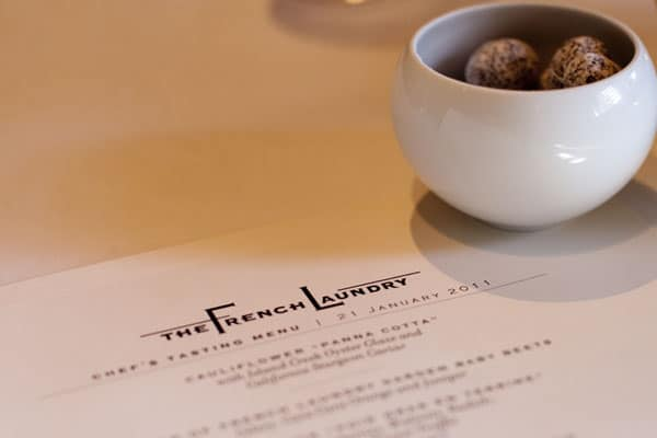 25 Most Expensive Restaurants in America (7 are in or within driving distance of San Francisco)