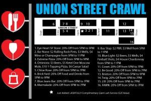 Union Street Pub Crawl