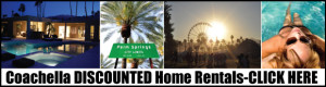 Rental Homes in Palm Springs for Coachella