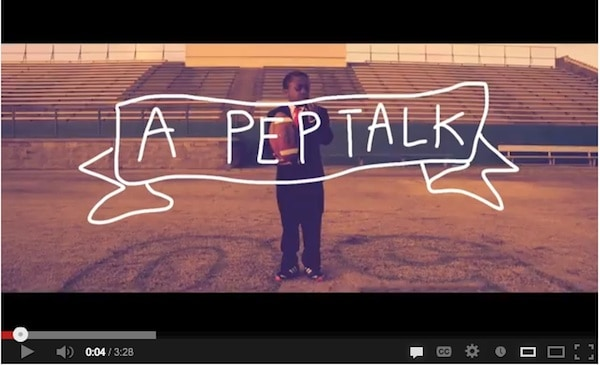 A Video Pep Talk by Kid President