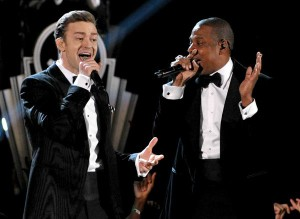 Justin Timberlake Jay-Z Tour Candlestick Park Suit and Tie