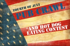 San Francisco Independence Day Pub Crawl Fourth of July SF Fireworks