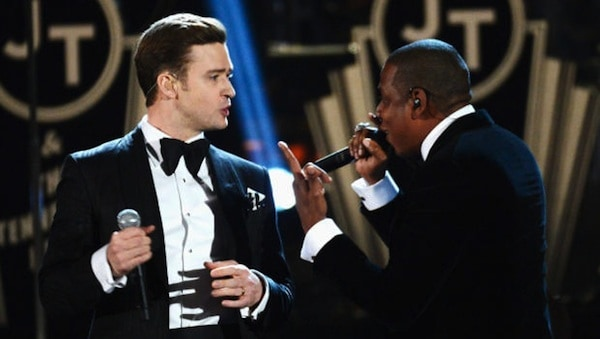 Justin TImberlake and Jay Z to perform at Candlestick Park on July 26. Tickets available soon.