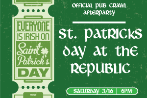 St Patricks Day Afterparty