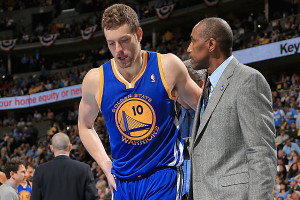 DavidLEe Injured Golden State Warriors Playoffs
