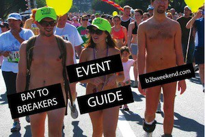 Bay to Breakers 2013 Map Events Parties