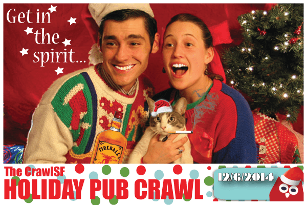 San Francisco Holiday Pub Crawls