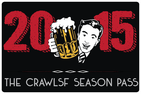 The CrawlSF 2015 Season Pass