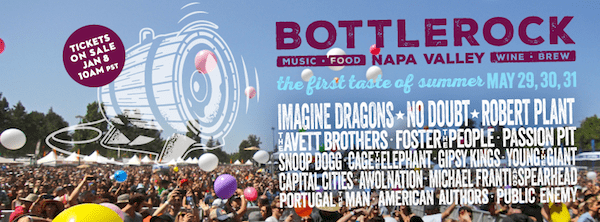 Bottlerock Party Bus