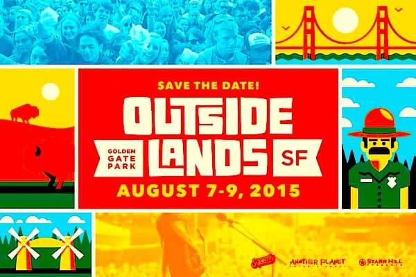 Outside Lands 2015 Party Bus, Set Times and more!