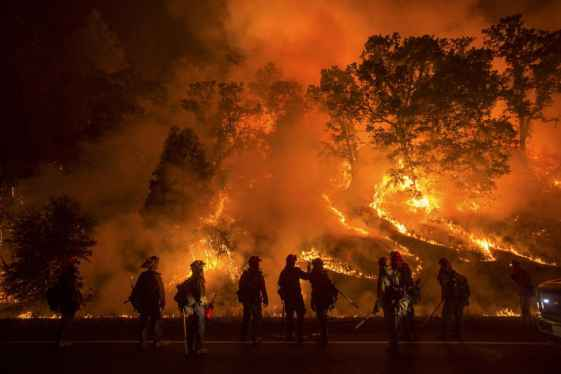 Valley Fire Videos Show the Massive Devastation in Northern California