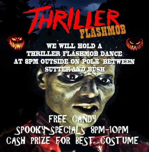 The San Francisco Halloween Pub Crawl and Thriller Flash Mob