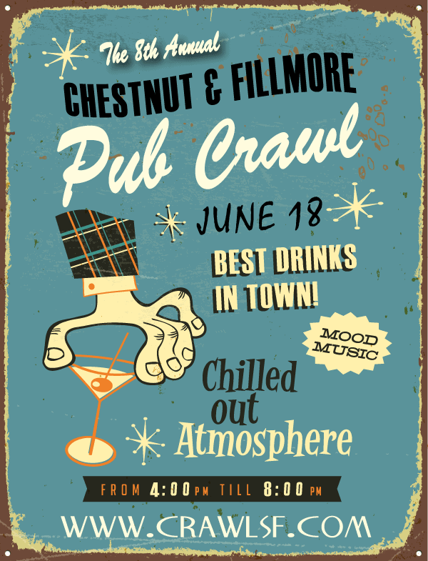 Chestnut Street Pub Crawl San Francisco