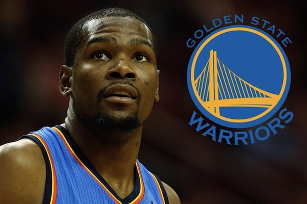 It's Official…Kevin Durant is Coming to the Warriors