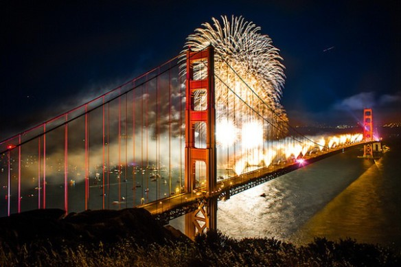 Independence Day Fireworks in the Bay Area
