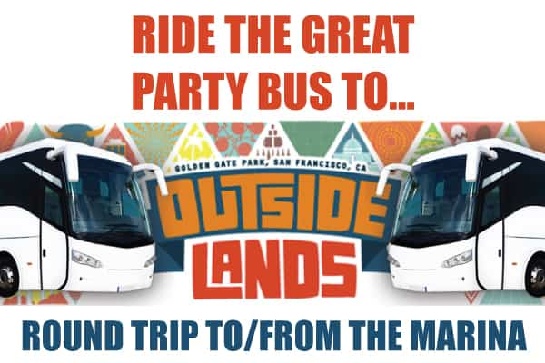 Outside Lands Party Bus Shuttle