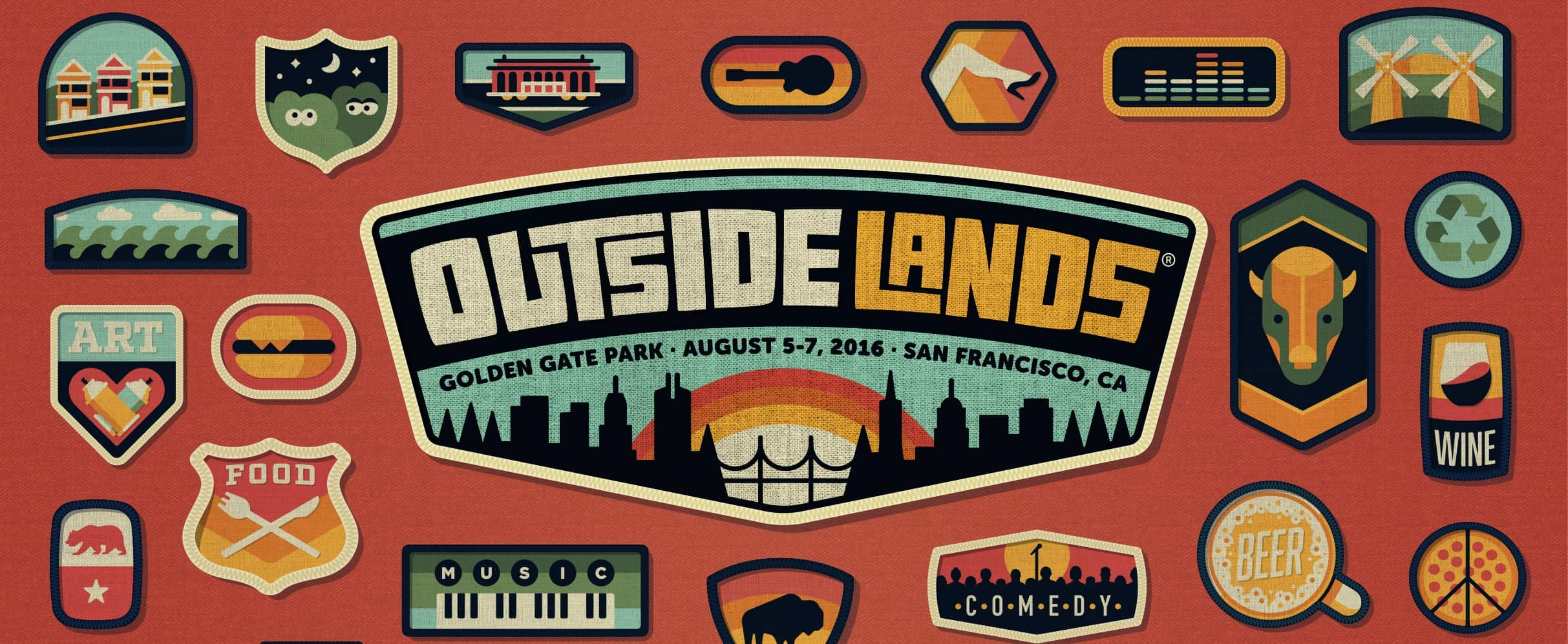 Outside Lands Lineup and Set Times 2016