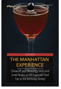 Best Manhattan Cocktail Kentucky Derby Giveaway
