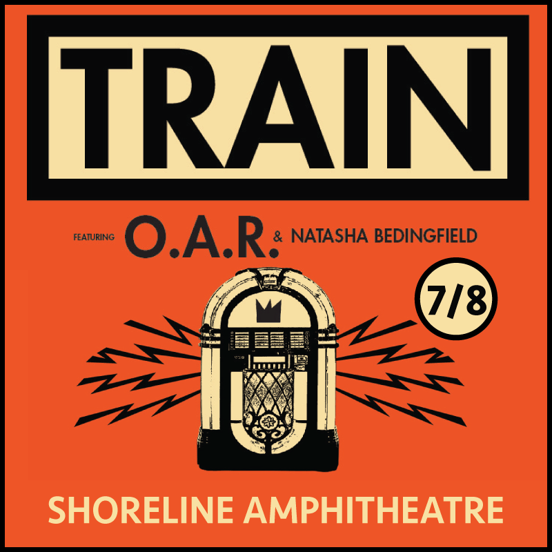 Train Concert Shoreline Amphitheatre Tickets San Francisco
