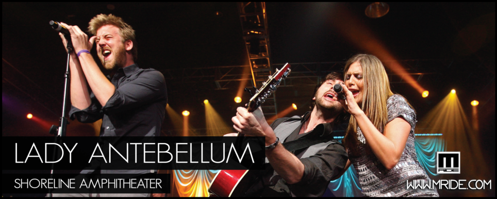 Lady Antebellum at Shoreline Amphitheatre