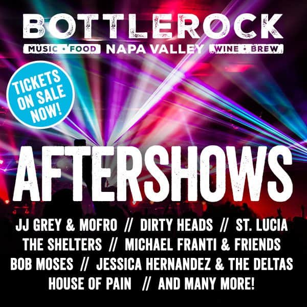 Bottlerock After Shows