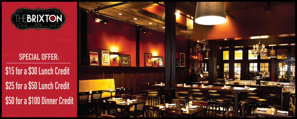 Up to 50% off Lunch or Dinner at The Brixton SF
