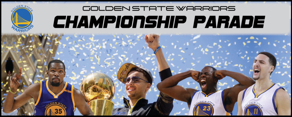 Golden State Warriors Championship Parade 2017