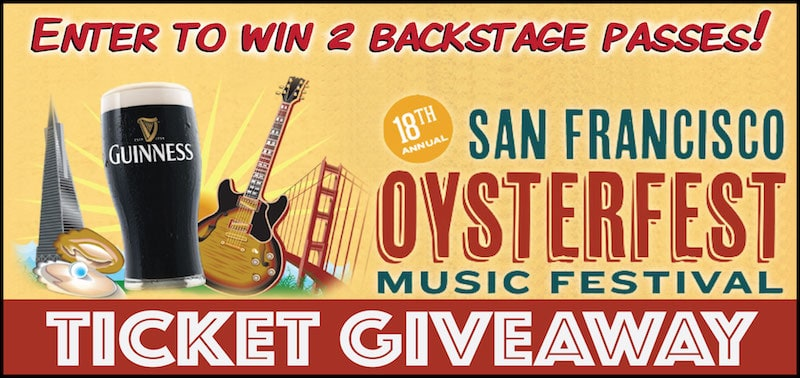Enter to Win Backstage Tickets to San Francisco Oysterfest