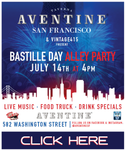 Aventine San Francisco Block Party Bastille Day