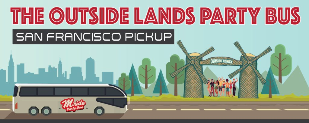 Outside Lands Party Bus (San Francisco Shuttle)