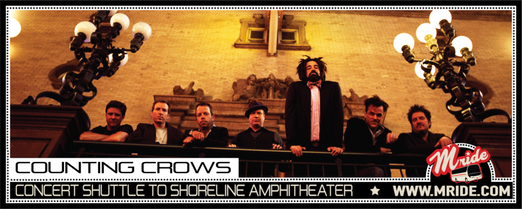 Counting Crows San Francisco Concert Shuttle