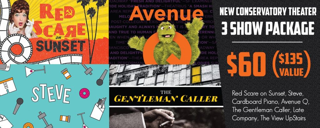NCTC Season Package: Avenue Q, Red Scare on Sunset and more!