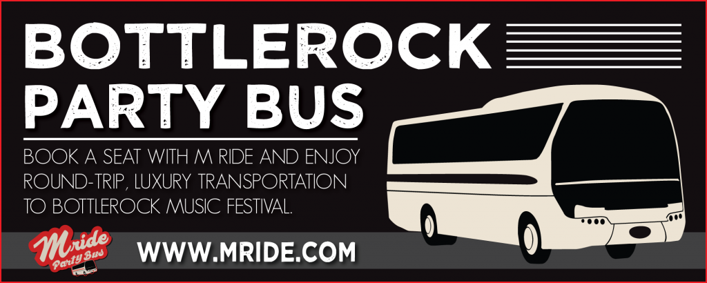 BottleRock Party Bus 2018