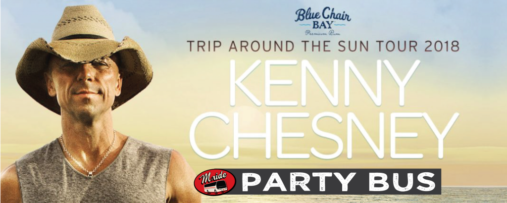 Kenny Chesney Shoreline Amphitheater Shuttle Bus