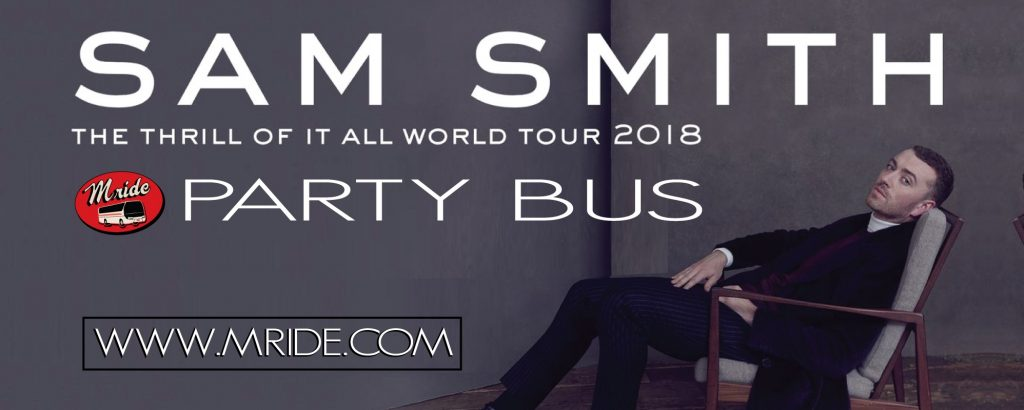 Sam Smith SAP Center Party Bus