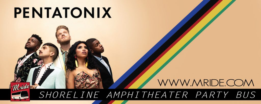 Shoreline Amphitheatre Shuttle Bus – Pentatonix