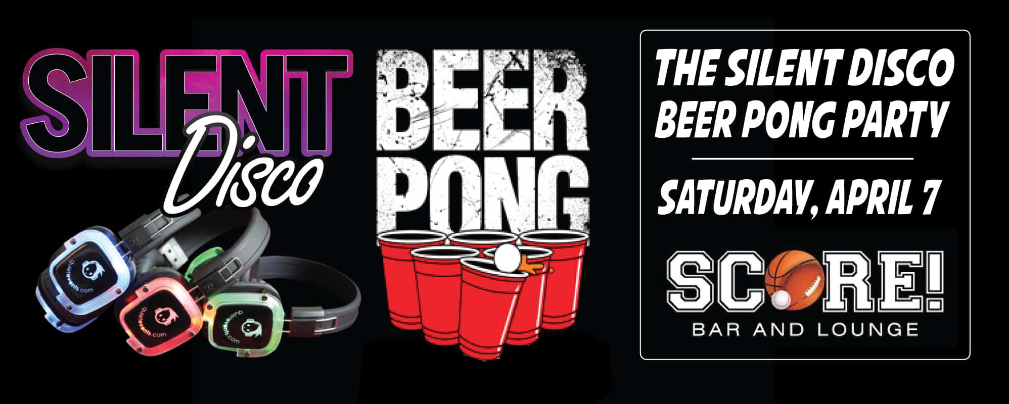 Silent Disco Beer Pong San Francisco