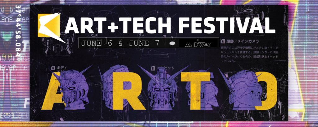 Nightlife at the Art+Tech Festival