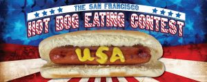The San Francisco Hot Dog Eating Contest