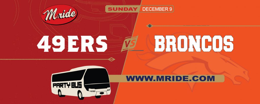 49ers vs. Denver Broncos Shuttle Bus to Levi's Stadium