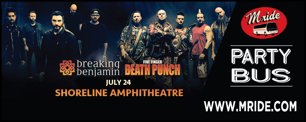 Five Finger Death Punch Party Bus