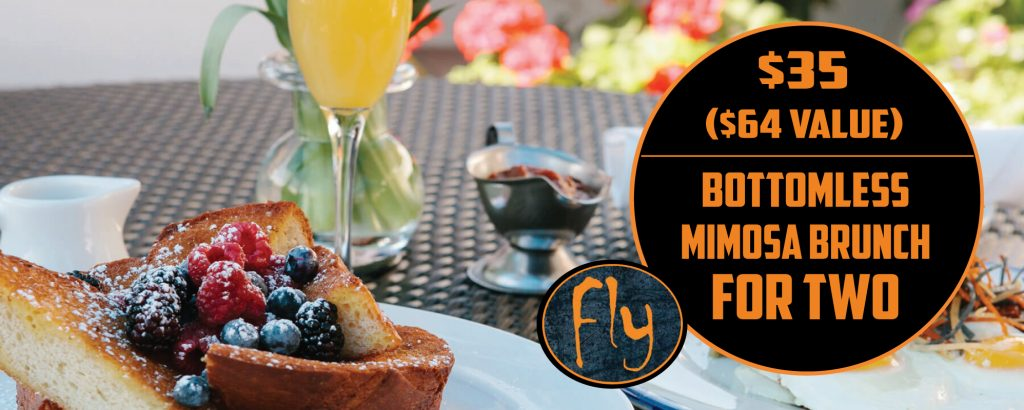 Bottomless Mimosa Brunch at Fly Bar